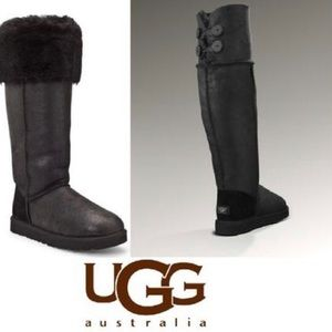"""UGG Over-The-Knee """"Bailey"""" Button Boots"""
